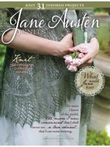 Jane Austen Knits Fall 2013 From Interweave Press, Featuring 4 of Anne's designs